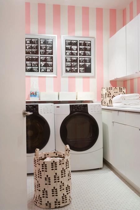laundry room retro wallpaper - photo #20