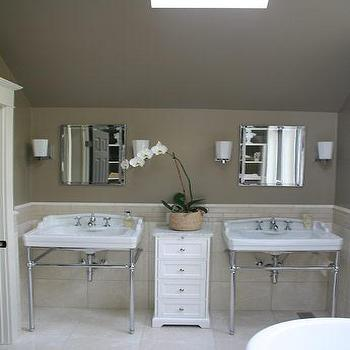 Taupe bathroom design ideas for Taupe bathroom ideas