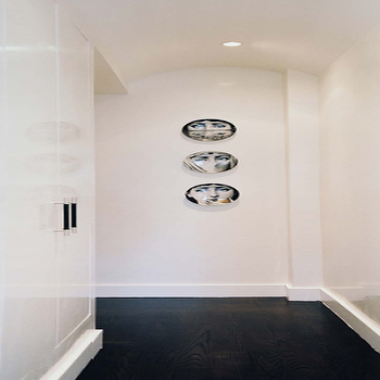 Fornasetti Plates, Contemporary, entrance/foyer, Lonny Magazine