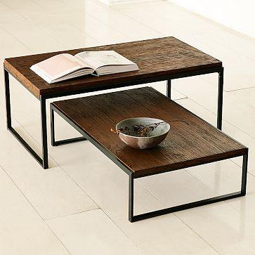 Modular coffee table west elm for West elm geometric coffee table