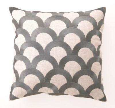 dl rhein designer needlepoint pillows chocolate gold gray linen 16 inch square throw pillows - Designer Throw Pillow