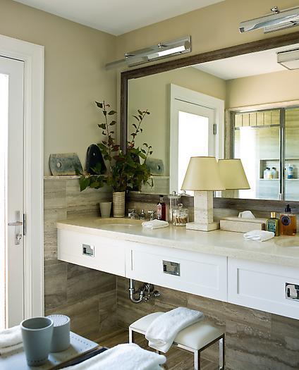 view full size. Modern coastal beachy bathroom ... - Coastal Bathroom Vanity Design Ideas