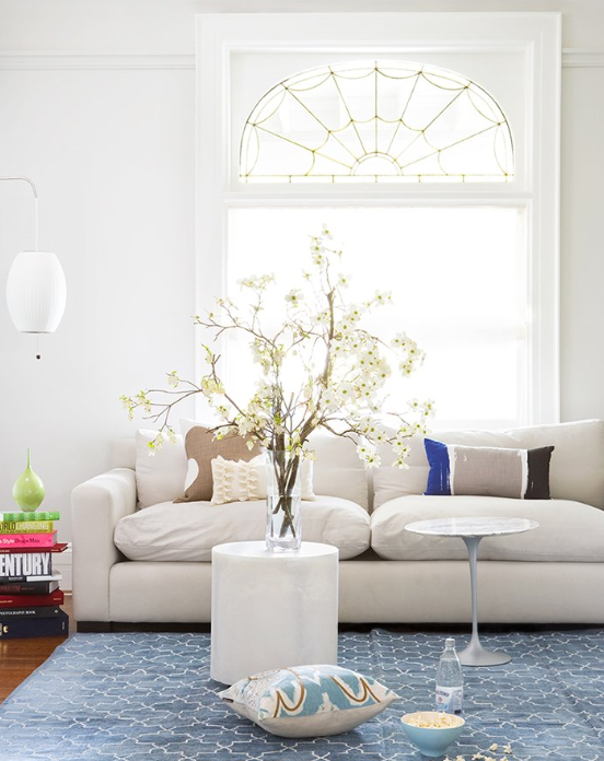 Trellis Rug - Contemporary - living room - Virginia Macdonald ...