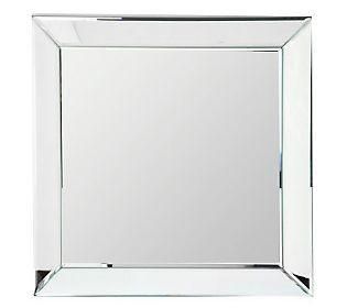 Square Beveled Wall Mirror Set Of 4