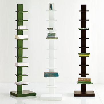 Spine Wood Bookcase West Elm