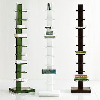Spine Wood Bookcase, west elm