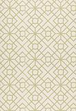 Wallcovering / Wallpaper, Luan Fretwork in Lime, Schumacher