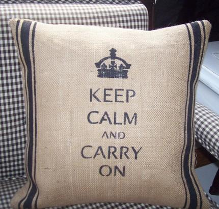 decorative burlap pillow cover sale by on etsy