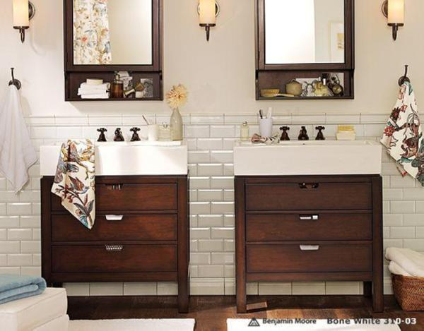 awesome pottery barn bathrooms designs | Bathroom Eight - Pottery Barn