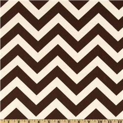 Premier Prints ZigZag Village Brown/Natural, Discount Designer Fabric, Fabric.com