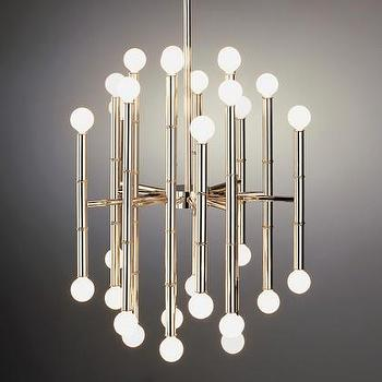 Jonathan Adler Meurice Chandelier in Ceiling Lights