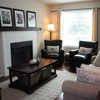 Tan Walls, Transitional, living room, Benjamin Moore Natural Linen