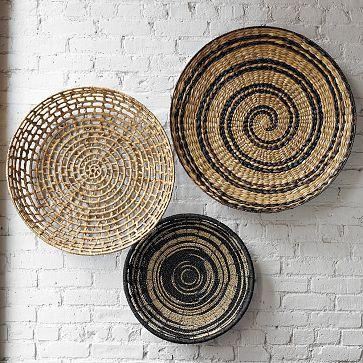 West Elm Wall Decor bowl wall art - west elm