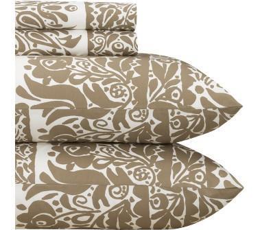 and barrel - marimekko �® sarafan almond sheet sets shopping in