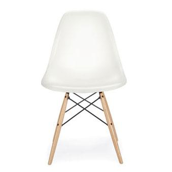 DWR Eames Molded Plastic Dowel Leg Side Chair View Full Size