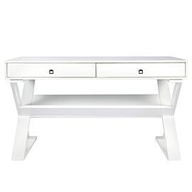 jett desk white lacquer z gallerie