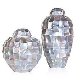 Z Gallerie, Perla Canisters, Orchid