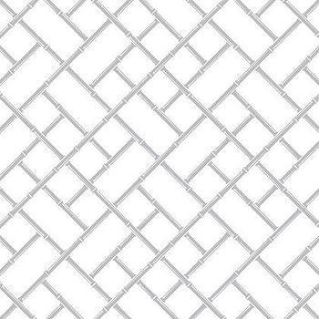 Jonathan Adler Bamboo Reverse Wallpaper in Wallpaper