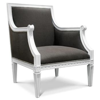 Jonathan Adler Regent Arm Chair in Chairs, Benches, And Ottomans