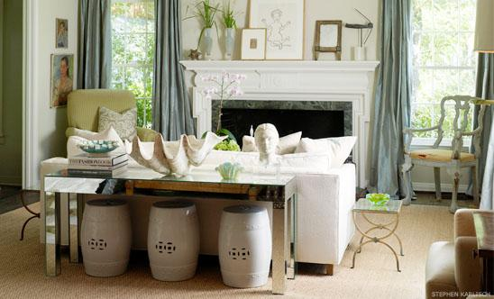 Living Room Console Tables Design Ideas