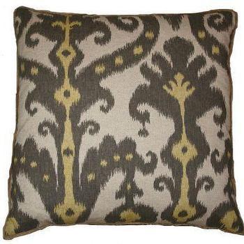 Marrakesh Blue Brown Moroccan Throw Pillows