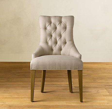 Martine Upholstered Armchair   Restoration Hardware