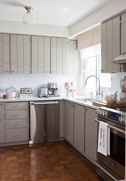 painted gray kitchen cabinetsGray Kitchen Cabinets  Contemporary  kitchen  Samantha Pynn
