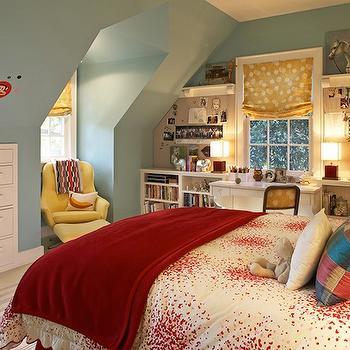Attice Kids Room, Contemporary, girl's room, Kristen Panitch Interiors