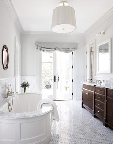 Oval bathtub ideas transitional bathroom james for Bathroom ideas tumblr