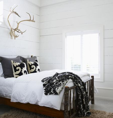 Decorative Antlers Country Bedroom House Home