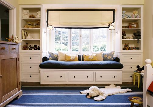 Built In Daybed, Contemporary, boy's room, Peter Dunham Design