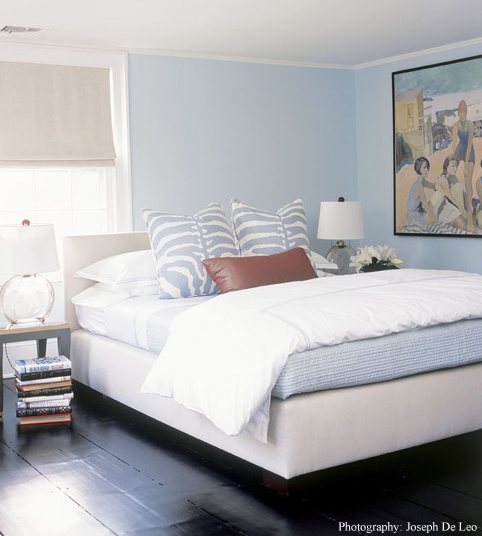 Chic Blue Bedroom Blue Chic Bedroom Design With