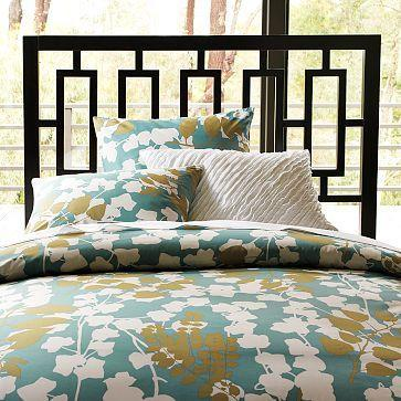 Organic Carved Circles Duvet Cover Shams West Elm