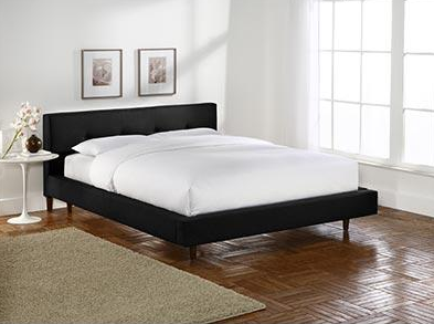 crate and barrel tate bed look 4 less!