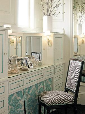 Skirted Vanity Chair Design Ideas