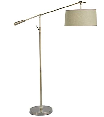 Pottery barn chelsea sectional lamp look 4 less for Jcpenney adjustable metal floor lamp by studio