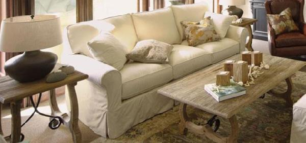 Baldwin Slipcovered Sofa