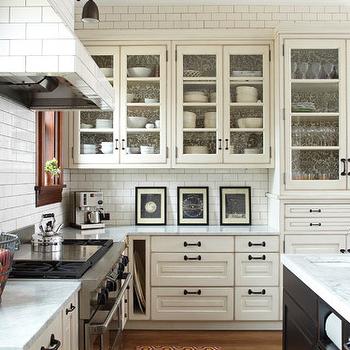 Subway Tile Range Hood, Transitional, kitchen, KItchen Lab