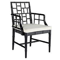 Chinese Chippendale Chair, New!, Wisteria