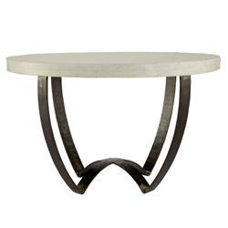 Sleek Marble-Top Coffee Table, Wisteria
