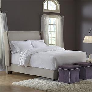 Costco   Platinum Wingback Queen Bed