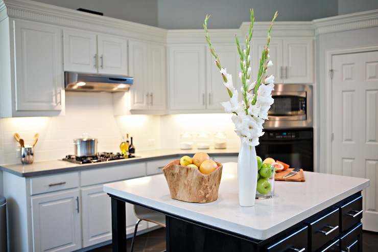 Caesarstone Quartz Countertops : Caesarstone quartz countertops transitional kitchen