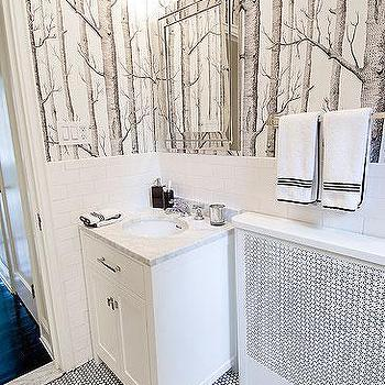 Woods Wallpaper View Full Size. Contemporary Bathroom Design ...