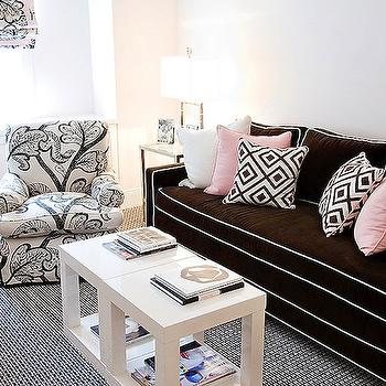 Parsons End Table, Contemporary, living room, Christina Murphy Interiors