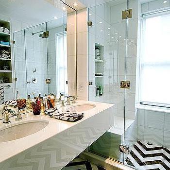 Chevron Bathroom Ideas Chevron Bathroom