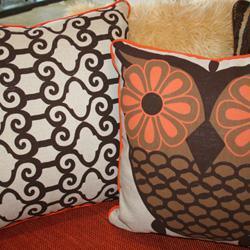 Owl Percale Bedding Garnet Hill