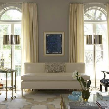 Ivory Drapes, Transitional, living room, Jan Showers