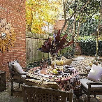 Courtyard Ideas, Eclectic, deck/patio, Huntley & Company