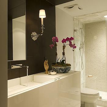 Floating Vanity, Modern, bathroom, Huntley & Company