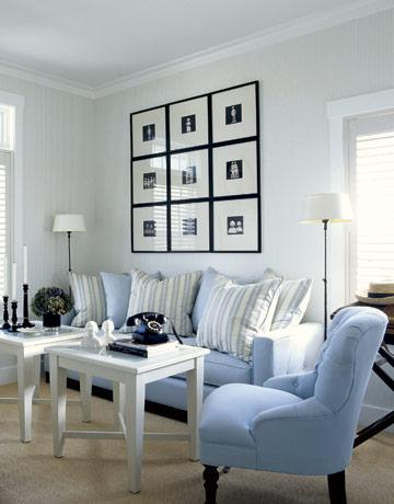 Blue Living Room Ideas - Design, decor, photos, pictures, ideas ...